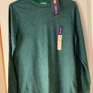 Boys Green Sweater Cherokee